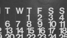 Calendar Dark