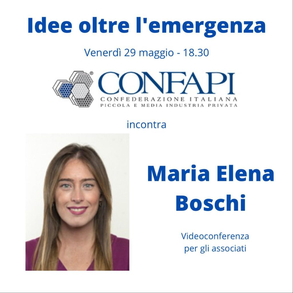 IDEE OLTRE L'EMERGENZA: CONFAPI INCONTRA MARIA ELENA BOSCHI