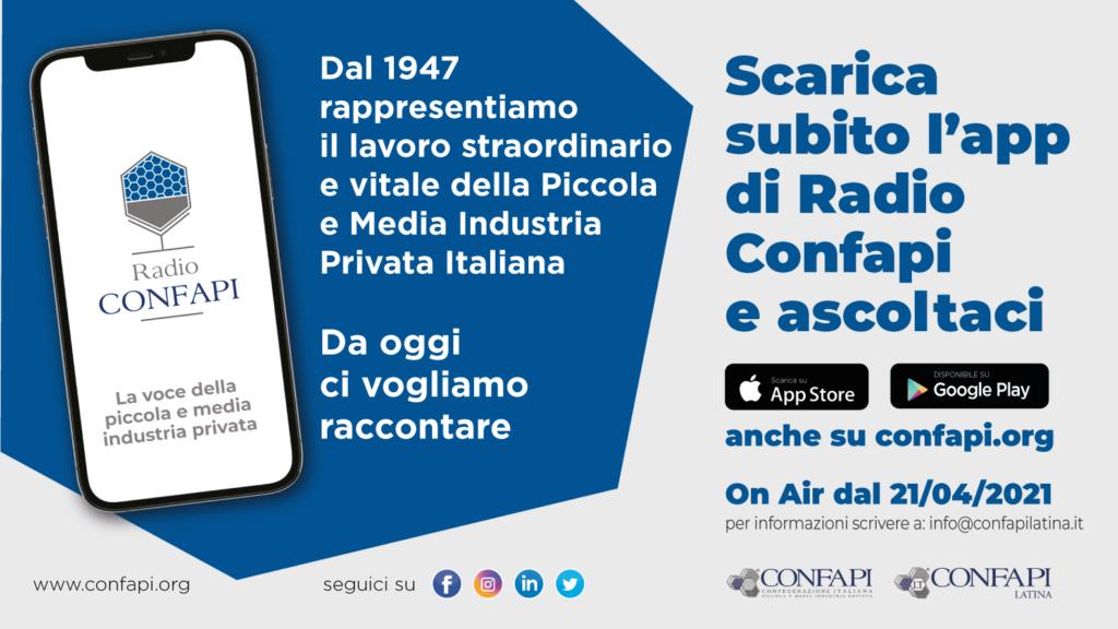 CONFAPI ON AIR: LA VOCE DELLE PMI SU RADIO CONFAPI